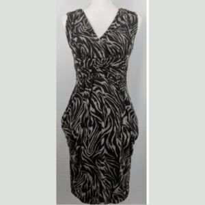 IZ Byer Brown Empire Style Dress Size Small